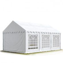TP Professzionális 4x6 nehéz acél rendezvény sátor 500G/M2 TŰZÁLLÓ PONYVÁVAL