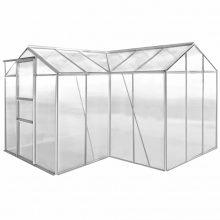 VID Economy üvegház/polikarbonát melegház - 8,24 m²