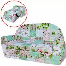 VID Gyerekszoba kanapé virág mintával