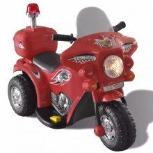 Elektromos motorkerékpár gyerekeknek piros