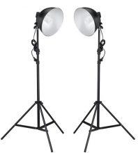 VID Fotóstúdió lámpa szett - 2 lámpával