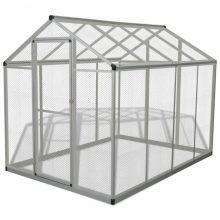 VID Kültéri alumínium madárház 178x242x192 cm