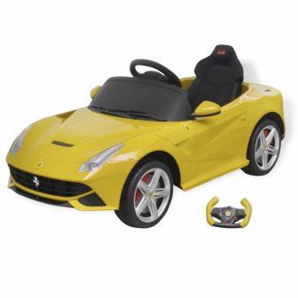 VID Elektromos kisautó Ferrari F12 sárga