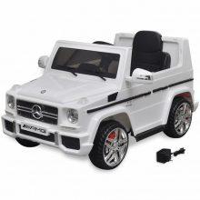 Elektromos kisautó fehér Mercedes Benz G65
