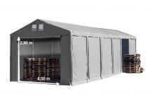 Vario raktársátor 6x12m - 3m oldalmagassággal-bejárat típusa: standard