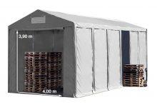 Vario raktársátor 6x12m - 4m oldalmagassággal-bejárat típusa: standard