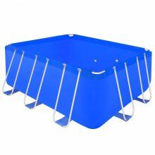 VID Fémvázas medence [400 x 207 x 122cm] - téglalap
