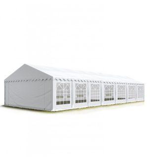 TP Professional deluxe 7x14m-2,6m oldalmagasság, 550g/m2 rendezvénysátor extra vastag acélszerkezettel-TŰZÁLLÓ PONYVÁVAL!