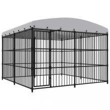 VID kültéri kutyakennel tetővel 300 x 300 x 210 cm