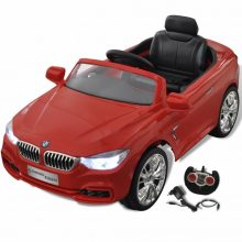 Elektromos kisautó piros BMW