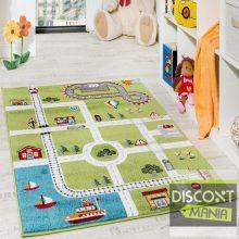Gyerekszoba szőnyeg - autópálya - több választható méret
