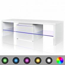 VID Magas fényű TV állvány, LED világítással