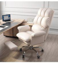 főnöki luxus design forgószék/fotel extra puha tapintású huzattal
