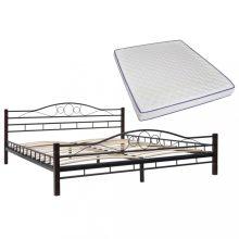 VID fémkeretes ágy memóriahabos matraccal 180x200cm