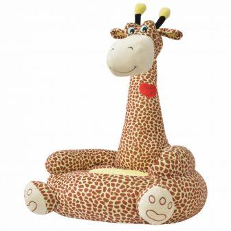 VID Plüss zsiráf formájú gyerekfotel