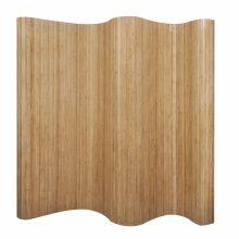 VID Tartós bambusz paraván [természetes tölgy színben]
