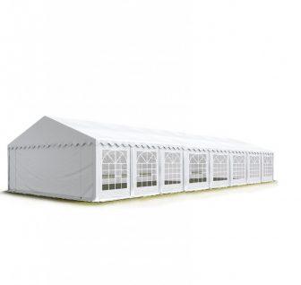 TP Professional deluxe 5x16m-2,6m oldalmagasság, 550g/m2 rendezvénysátor extra vastag acélszerkezettel tűzálló