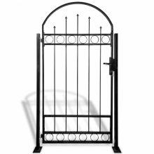 VID ívelt tetejű kerítés kapu 2 oszloppal 100 x 200cm