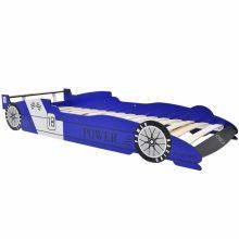 VID Versenyautó formájú gyerekágy 90x200 cm kék