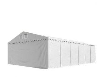 Raktársátor 6x12m professional 2,6m oldalmagassággal, 550g/m2