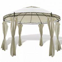 VID Pavilonos kerti sátor kör alakú