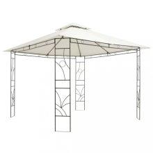 VID krémszínű négyzet alakú pavilon 300x300x300 cm