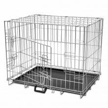 Összecsukható kutyaszállító ketrec 92,5 x 65,5 x 57,5cm