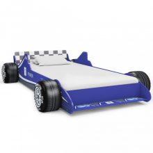 VID kék versenyautó formájú gyerekágy 90x200 cm