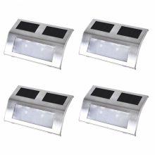 VID Kültéri napelemes lépcső világítás [4 db]