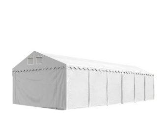 Raktársátor 8x12m professional 2,6m oldalmagassággal, 550g/m2