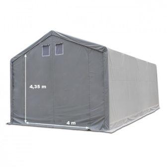Skladišni šator 6x12m sa bočnom visinom 4m professional 550g/m2