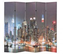 VID paraván 200 x 180 cm New York éjjel