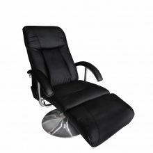 VID Elektromos fekete masszázsfotel/ tv fotel