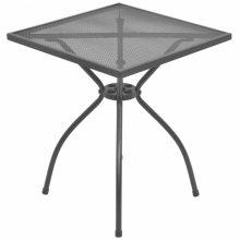 VID Kültéri acélhálós bisztróasztal [60 x 60 x 70 cm]