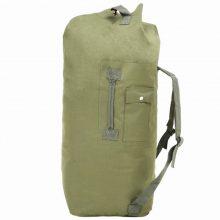 VID olívazöld katonai vászonzsák hátizsák 85 L