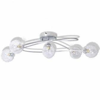 VID 5 gömb alakú mennyezeti lámpa alumíniumhálós