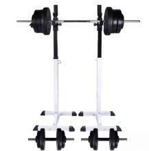 VID guggoló súlyzóállvány egykezes, kétkezes súlyzószettel 60,5 kg