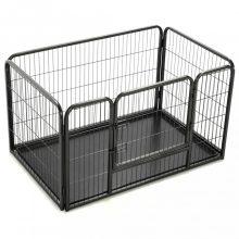VID acél kutyakennel kölyökkutyáknak 125 x 80 x 70 cm
