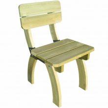 VID 1 db impregnált fenyőfa kerti szék