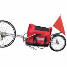 Kerékpár utánfutó egykerekű monoporter
