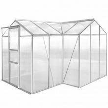 VID Egyterű alumínium üvegház üreges panellel