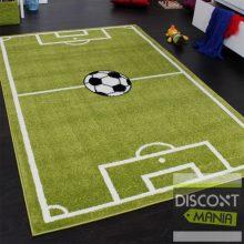 Gyerekszoba szőnyeg - focipálya mintával - több választható méret