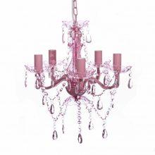 VID 5 izzós mennyezeti csillár Rózsaszín