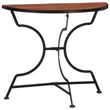 VID bisztró asztal-akácfa 85 x 43 x 75 cm