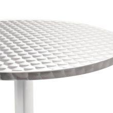 VID ezüst asztalka