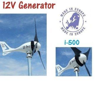 ISTA Breeze i-500 12V Szélgenerátor - szélmalom