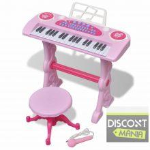 Játék szintetizátor - rózsaszín
