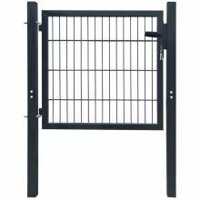 VID 106x150 cm acél kerítés kapu antracit szürke