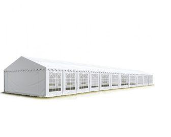 TP Professional deluxe 6x22m-2,6m oldalmagasság, 550g/m2 rendezvénysátor extra vastag acélszerkezettel tűzálló