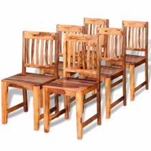 6 db Sheesam fa étkezőszék